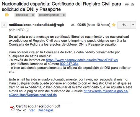 sacar turno para precentar el sartificado escolar por anses correo electr 243 nico con el certificado del registro civil