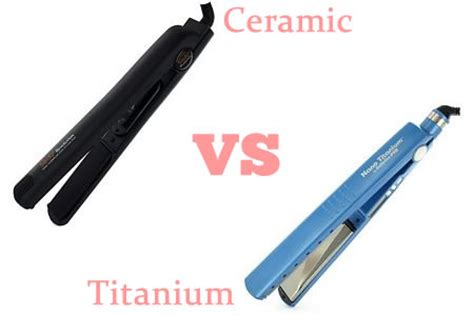 Difference Between Hair Dryer And Hair Straightener best ceramic and titanium flat iron reviews 2018