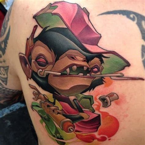 tattoo new school monkey 198 best images about new school on pinterest artist