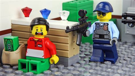 Banc Lego by Lego Bank Robbery Invisible