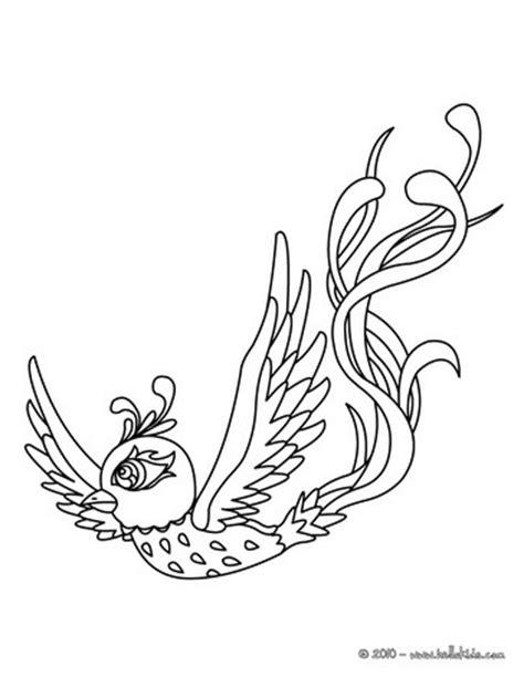 coloring pages phoenix bird phoenix coloring pages hellokids com