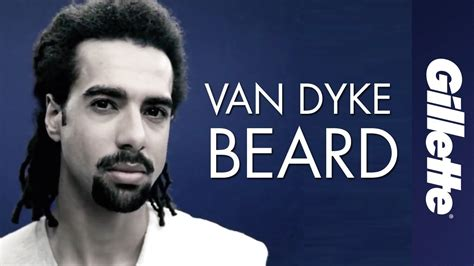 type beard royale beard and goatee styles 9 the van dyke beard gillette