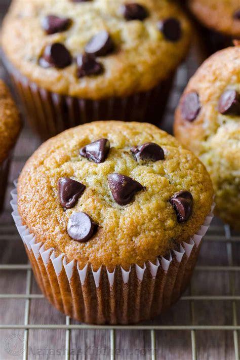 banana muffins recipe natashaskitchencom