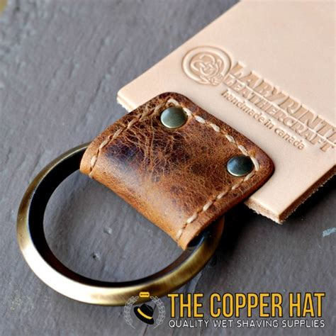 leather razor strop handcrafted 3 quot leather razor strop the copper hat