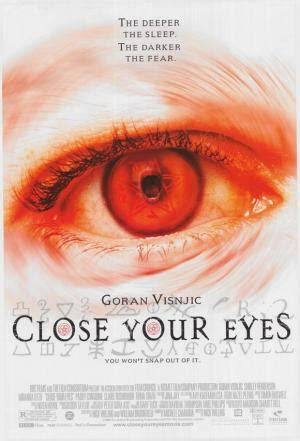 libro close your eyes doctor sleep close your eyes 2004 filmaffinity