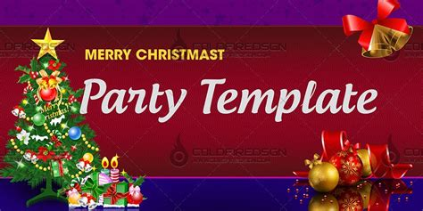 layout for christmas party christmas party banner psd template 171 coldfiredsgn