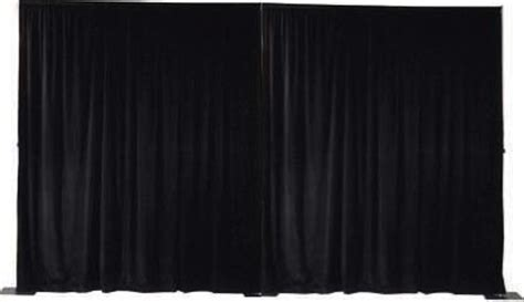 black draping black velour drape rental