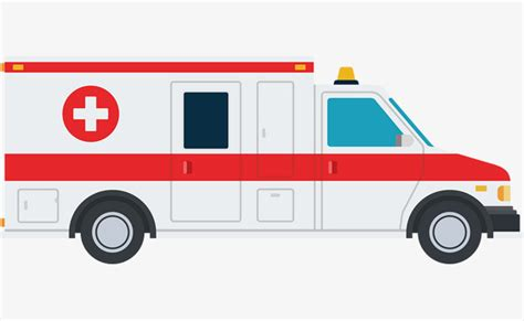ambulance vector hand ambulance red cross png and
