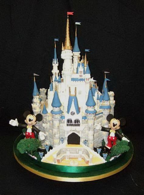 Disney Wedding Cake by Disney Wedding Cakes Disney