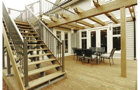 walk out basement future home design pinterest second floor deck with walk out basement patio this