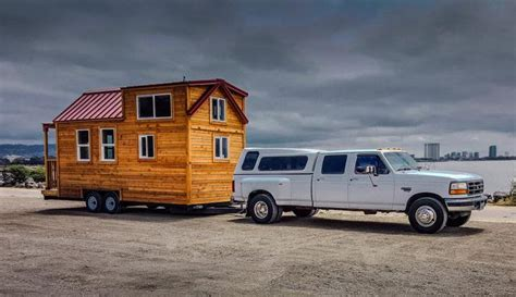 How To Towing A Tiny House Simply Safely Tiny Spaces Towing A Tiny House