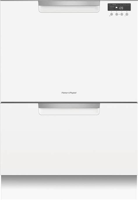 Dishwasher Drawers Fisher Paykel by Dd24dctw9 Fisher Paykel Drawer Dishwasher White