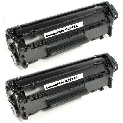 Cartridge Toner Compatible Standart Q2612a 12a Hp Laserjet 1020 Murah hp 12a q2612a new compatible black toner cartridge economical white box 123inkcartridges canada