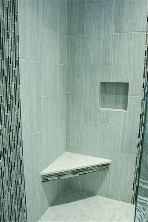 Upright Shower 6 New Products For Master Baths Glass Mosaic Tiles