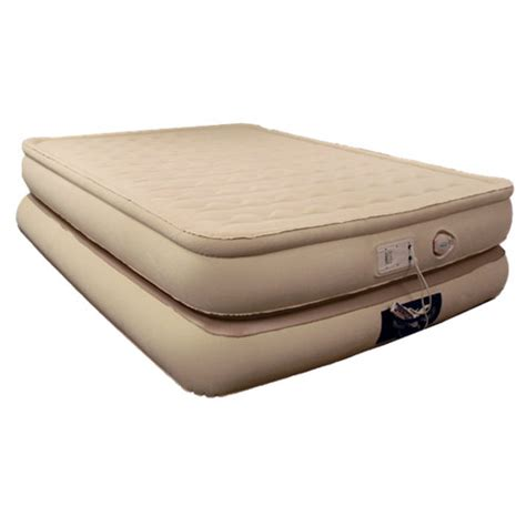 raised air bed aerobed luxury collection raised pillowtop inflatable air