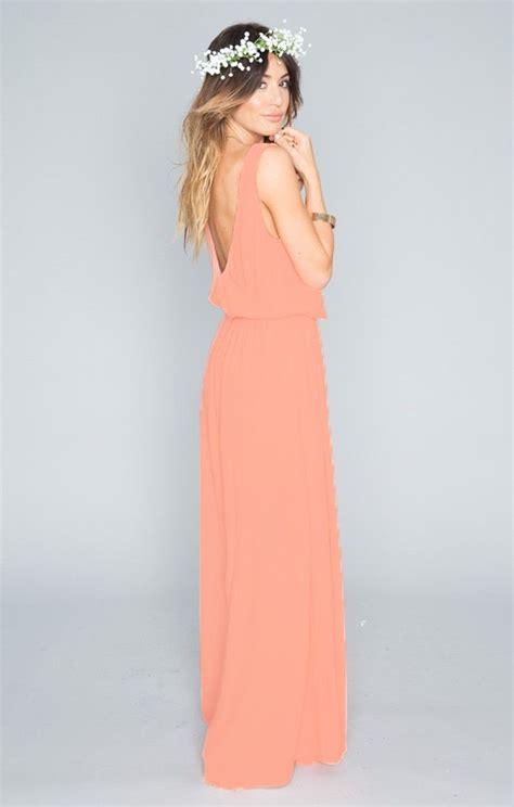 Dress Softpeach 1184s kendall maxi dress soft crisp maxis show me and