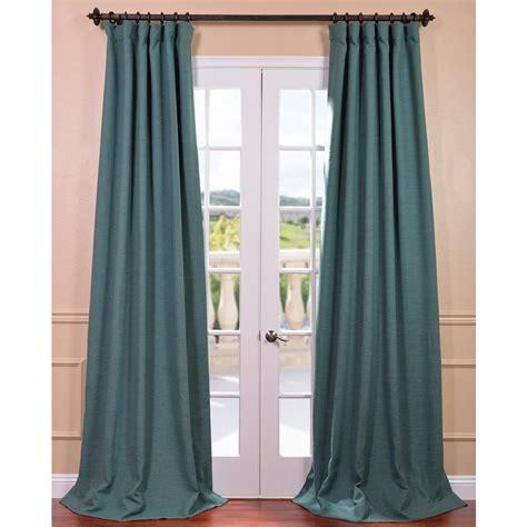 Exclusive Curtain Fabrics Designs Exclusive Fabrics Furnishings Semi Opaque Jadite Green Bellino Blackout Curtain 50 In W X