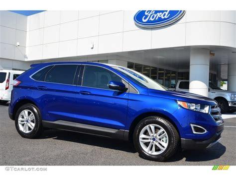 2015 ford edge colors 2015 impact blue metallic ford edge sel awd