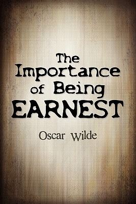the importance of being earnest books book review 2 the importance of being earnest