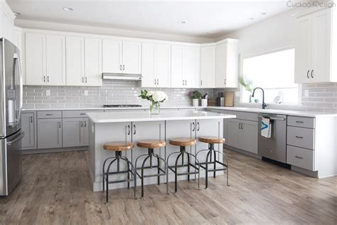 kitchen island with post