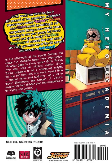 my academia vol 1 my academia volume 6