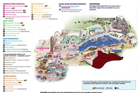 map of universal studios til in 1987 steven spielberg made a deal with universal studios florida to li rebrn
