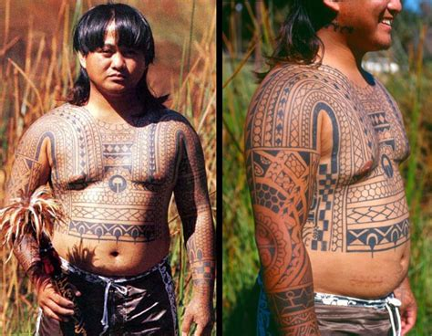 traditional filipino tattoo designs return of the headhunters the philippine revival