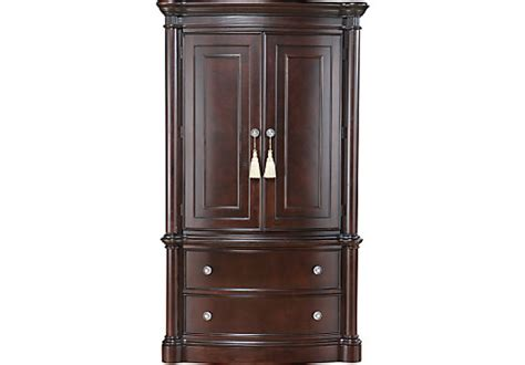 dark wood armoire dumont armoire accent pieces dark wood