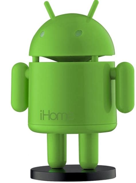 android speaker ihome robo android speaker green gadgets matrix