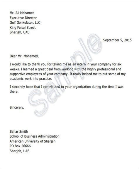 appreciation letter pdf format 42 appreciation letters in pdf sle templates