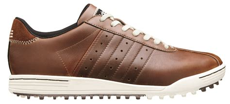 adidas adicross ii mens shoes brown black discount prices for golf equipment