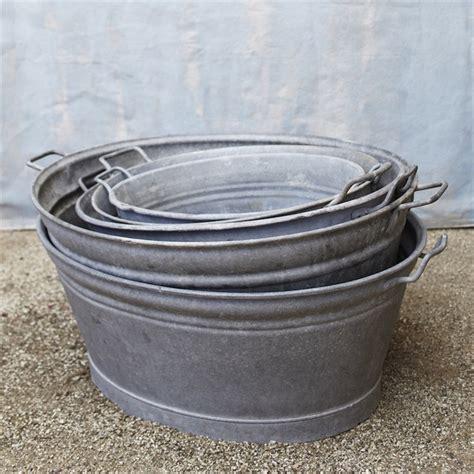 galvanized wash tub old zinc washtubs galvanized tubs pinterest kitchen