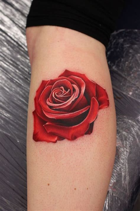 tattoo 3d rose 3d elaxsir