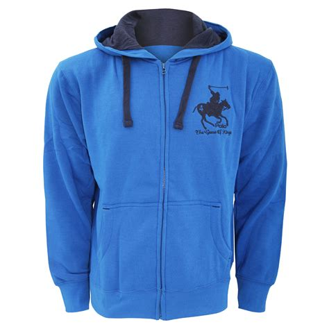 polo jacket layout mens hooded full zip jacket hoodie sweatshirt embroidered