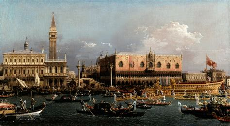 libro canaletto and the art ancora su venezia