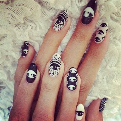 nails design unique 30 unique eye nails art design ideas 2015