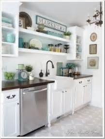 shelves instead of kitchen cabinets kitchen counter shelving foter