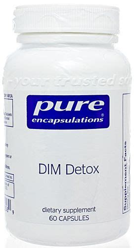 Professional Supplement Detox Guide by Dim Detox By Encapsulations Freshest Vitamins And