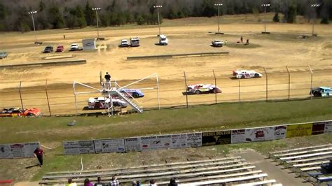 hollow speedway hollow speedway 4 26 15 crate late models feature race