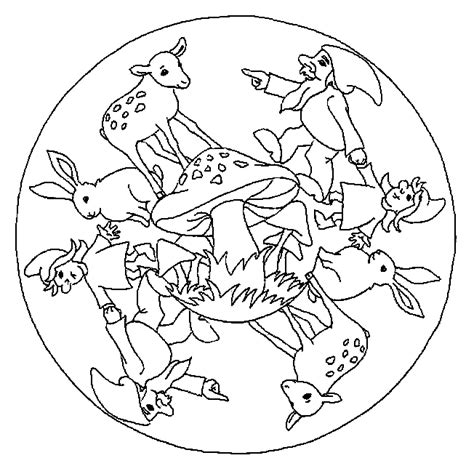 coloring pages mandala animals kids n fun com 57 coloring pages of mandala animal