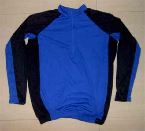 Kaos Atau Jersey Sepeda Discovery Biru Hitam kaos sepeda lengan panjang biru hitam l