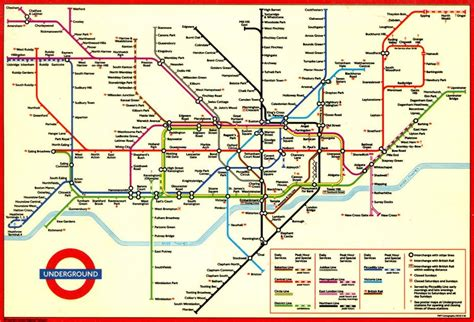 Printable Version Of London Tube Map | sublime design the london underground map