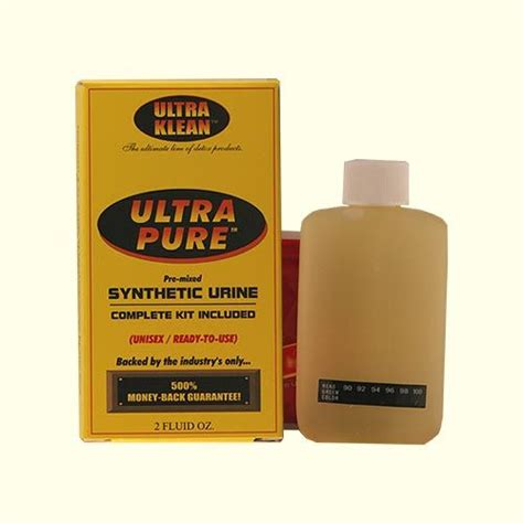 Detox Or Synthetic Urine by Ultra Pre Mixed Synthetic Urine Detox Ok