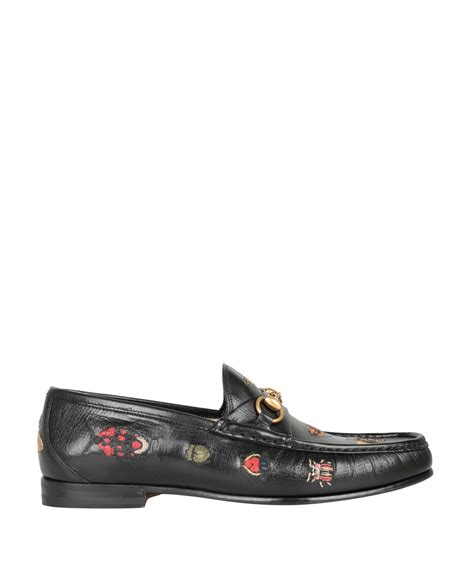 loafers vs boat shoes gucci gucci embroidered leather horsebit loafer nero