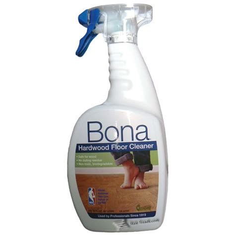 bona hardwood floor and stair tread cleaner 32oz spray bottle