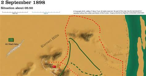 omdurman map obscure battles omdurman 1898