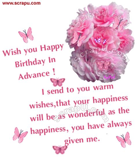 Happy Birthday Wishes In Advance Sms Birthday Sms Messages Nicewishes Com Page 7