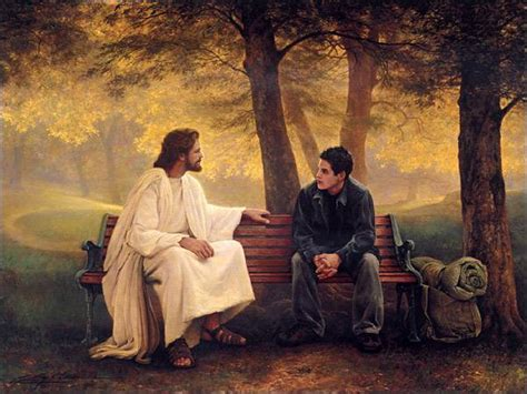 jesus on bench our forgiving father part 2 leaving home rpm ministries
