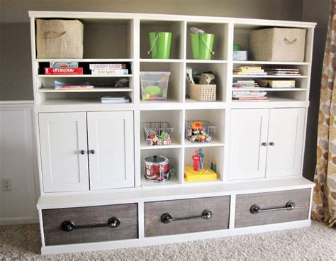 playroom shelving units kriskraft play room storage unit learning space