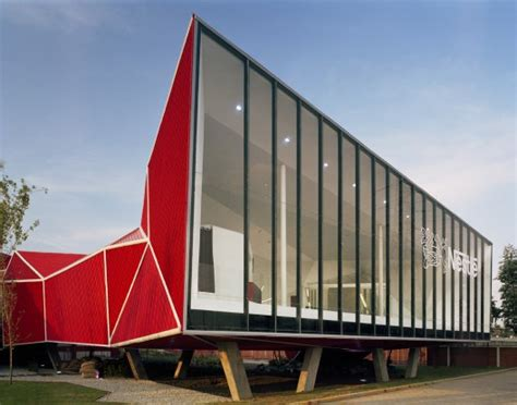 Origami Buildings - 15 spectacular buildings where origami meets architecture